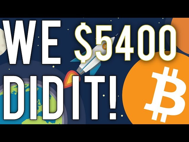 It's Time To Celebrate! (Bitcoin Destroys $5000 All Time High)