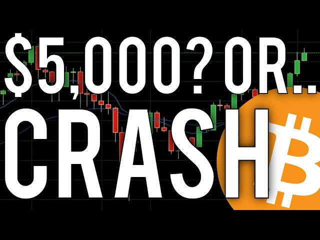 Will Bitcoin Go Higher Or Crash? ($5000 Key Resistance Point)